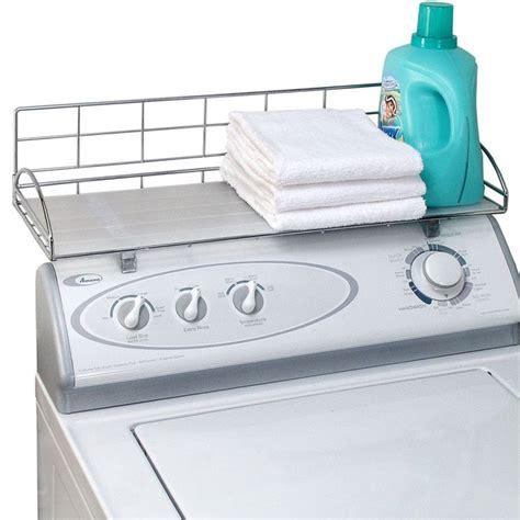 wire shelf washer and dryer washer storage shelf organization