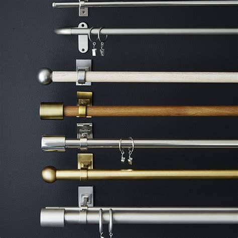 mid century wooden rod west elm