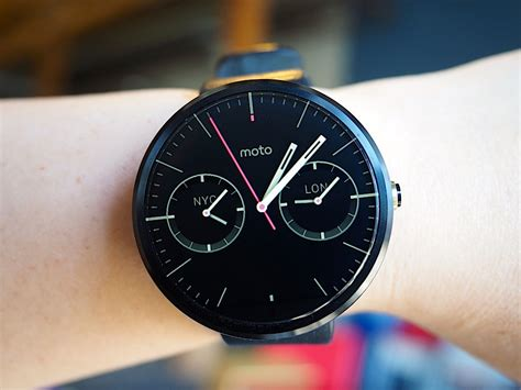 android wear moto 360 moto 360 review it s the best android wear but