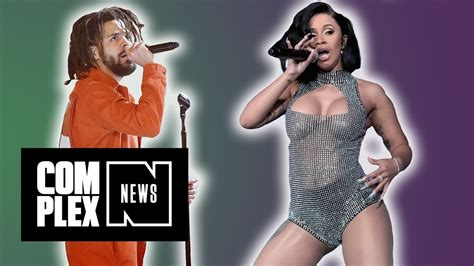 Cardi B Says Her 'heart Is Smiling' After J Cole Gives