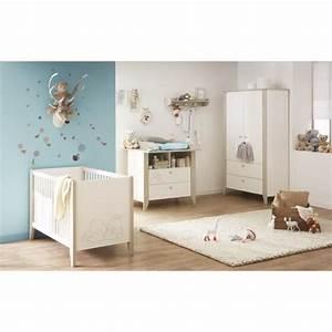 ourson chambre bebe complete lit armoire commode With tapis chambre bébé avec chambre de culture discount
