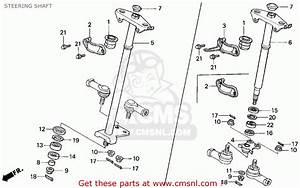 Honda Trx300 Fourtrax 300 1995  S  Usa Steering Shaft