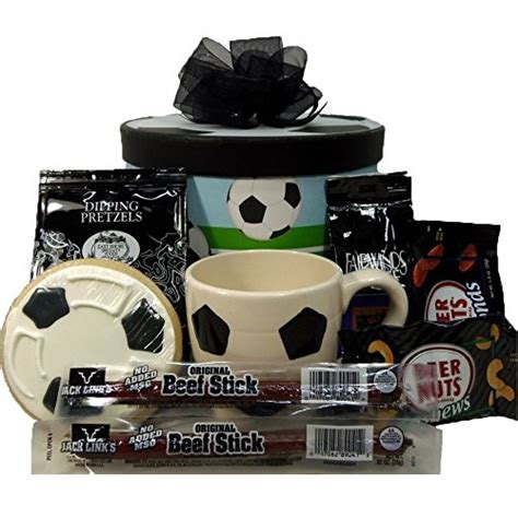 gifts for soccer fans quot kick it quot soccer gift box great gifts for soccer fans
