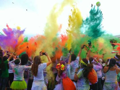 the color run los angeles best races for getting near orange county cbs los