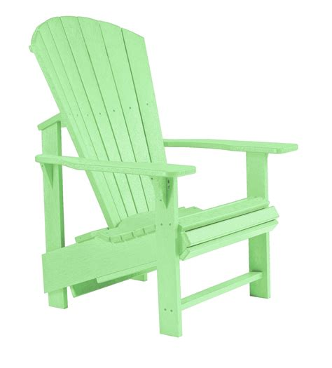 generations lime green upright adirondack chair from cr