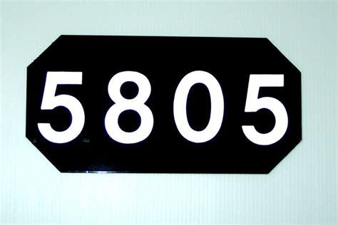 house number sign for l post 11 best reflective address signs images on pinterest