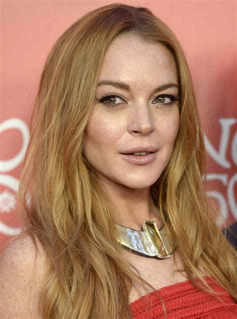Lindsay Lohan Celeb Es Her Th Birthday Instyle M