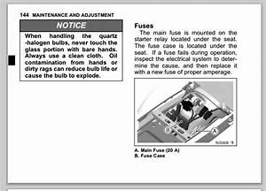 Fuses - Locations And Functions