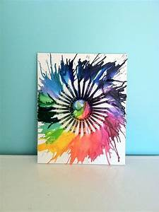 Fun, And, Budget, Friendly, Melted, Crayon, Art, Ideas