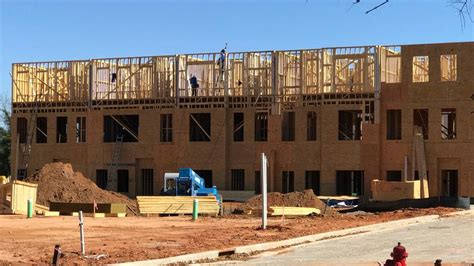 New Bull Street Luxury Townhomes Under Construction Wach