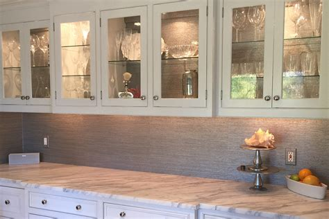 wallpaper inside kitchen cabinets kitchen cabinet refacing how to redo kitchen cabinets