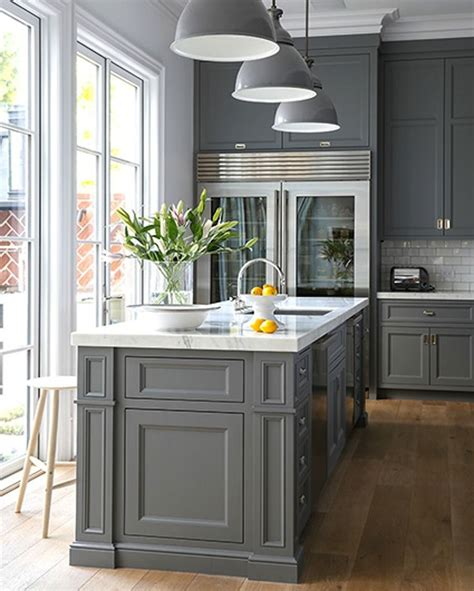 kitchen cabinets for 15 stunning gray kitchens gray kitchens 8204