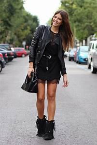 Bottines Avec Robe : 1001 bonnes raisons pourquoi s 39 habiller en noir ~ Carolinahurricanesstore.com Idées de Décoration