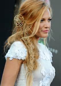 HD wallpapers hairstyles to the side for wedding