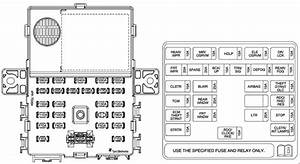Chevrolet Spark M300  2009 - 2015   U2013 Fuse Box Diagram