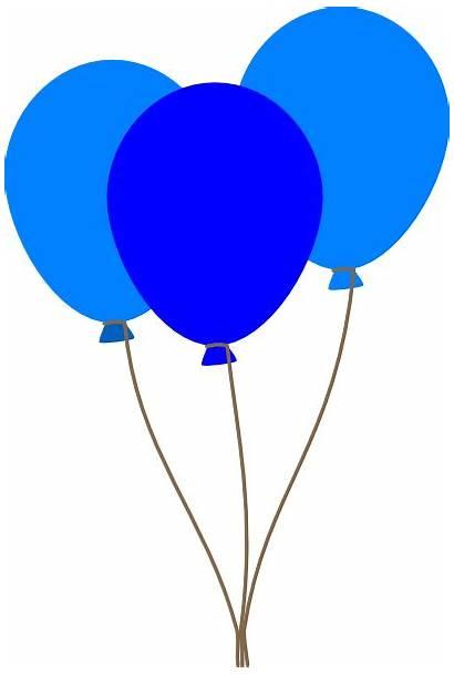 Balloons Balloon Clipart Clip Transparent Cliparts Birthday