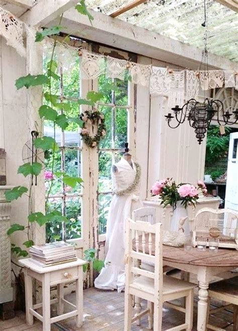 shabby chic garden decorating ideas 16 shabby chic garden designs with interior furniture top easy decor project easy idea
