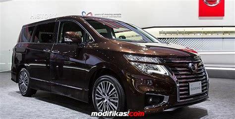 Modifikasi Nissan Elgrand by Nissan Elgrand Autech Terbaru Siap Rusak Pasar Toyota Alphard