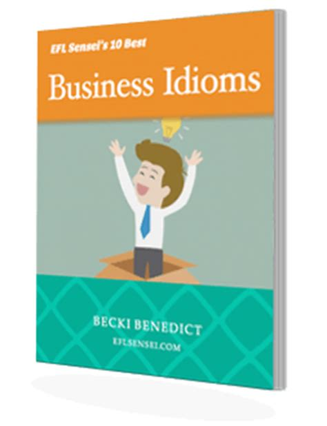 business idioms efl sensei store