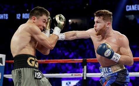 breaking canelo  ggg super fight ends