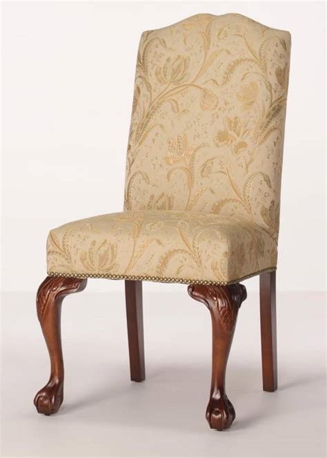 parsons dining chairs with nailheads raleigh parsons dining chair and claw legs and