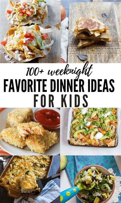 Picky eaters—we've all heard the term and many of us have at least one at home. 100+ Dinner Ideas for Kids | Recipes for Picky Eaters