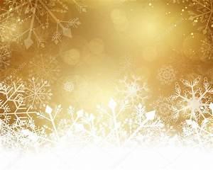 Golden Christmas Background — Stock Vector ...