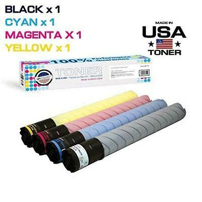 It comes standard with copier, scanner, and network printing capabilities. MADE IN USA TONER for use in Konica Minolta bizhub C220 ...