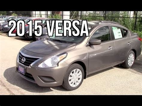 nissan versa sedan sv review youtube