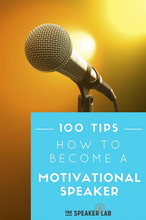 How To Do A by 100 100 Tips On How To Become A Motivational Speaker