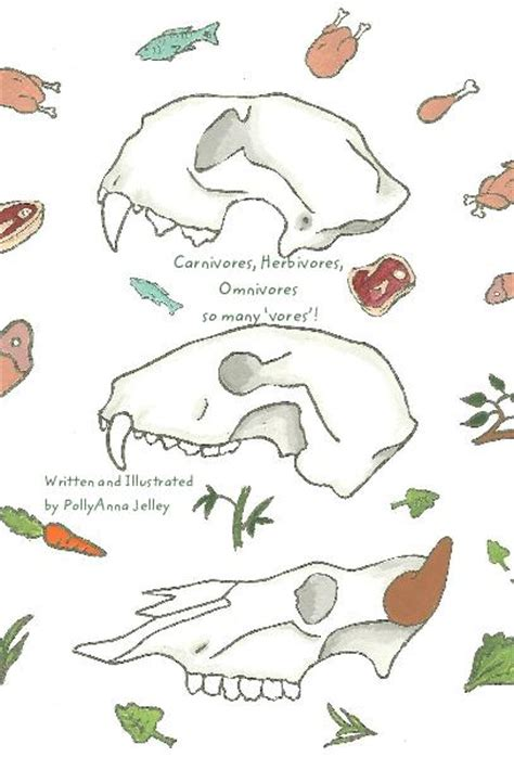 Carnivores, Herbivores, Omnivores So Many 'vores'! By Written And Illustrated By Pollyanna