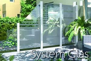 Zaun Aus Glas : sichtschutzzaun aus glas g nstig selber bauen ~ Michelbontemps.com Haus und Dekorationen