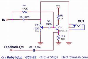 Wah Pedal Wiring Diagram