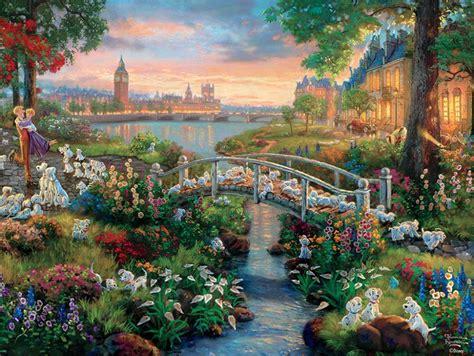 Thomas Kinkade Disney  101 Dalmatians  750 Piece Puzzle