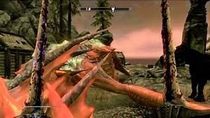 Skyrim: Dawnguard - Revered Dragon - YouTube