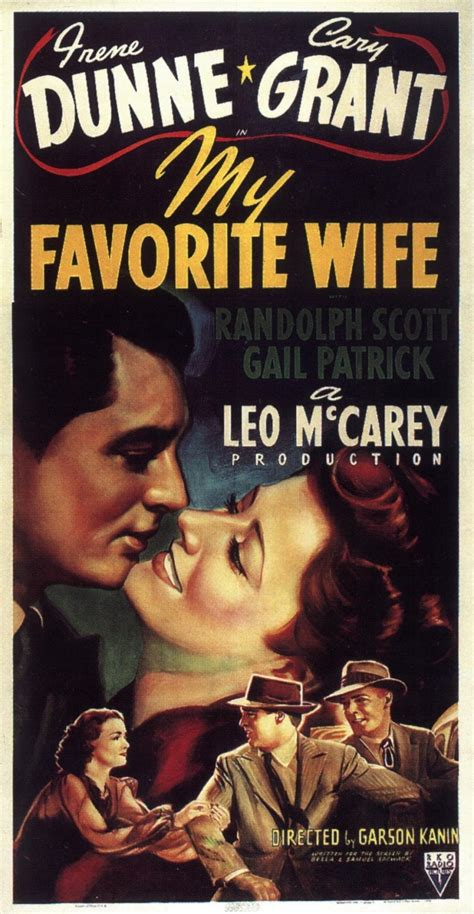 my favorite wife 1940 film lover movie posters