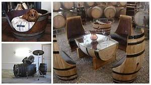 Bar In Tonnen : wijnvat meubelen tafels stoelen en banken van eiken vaten ~ Frokenaadalensverden.com Haus und Dekorationen