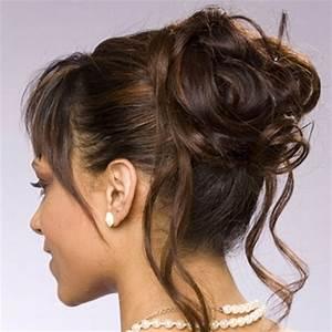 Chignon Cheveux Mi Long : modele chignon cheveux mi long ~ Melissatoandfro.com Idées de Décoration