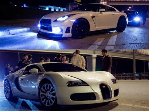 Bugatti Veyron Vs by Bugatti Veyron Vs Nissan Gtr 2017 Beutifule Find Out For