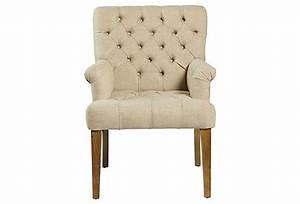 Clark, Tufted, Armchair, Oatmeal, On, Onekingslane, Com, With, Images