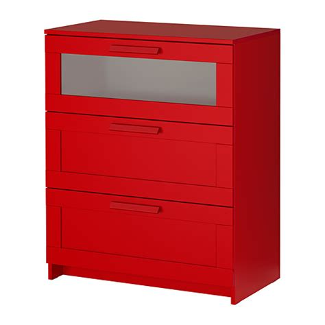 brimnes 3 drawer chest frosted glass ikea
