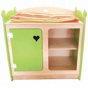 Accessoire Table à Langer : table langer pour poup es en bois jb bois ~ Teatrodelosmanantiales.com Idées de Décoration