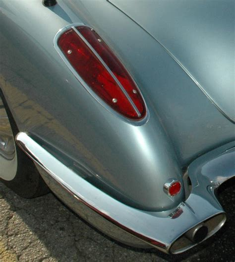 Corvette Lights by 1958 Corvette C1 New Headlight Style And