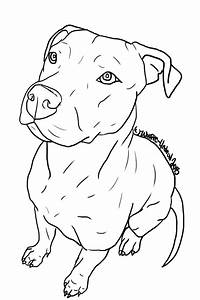 Pitbull Face Drawings Easy Pictures to Pin on Pinterest ...