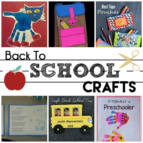 back to school preschool crafts houston and 511 | BackToSchoolCrafts