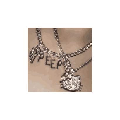Necklace Gifs Peep Kitty Hello Lil Bo