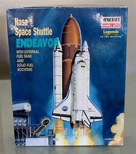 Nasa Space Shuttle Endeavor Minicraft Model KIT 1 144 ...