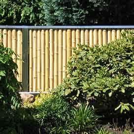 Bambus Sichtschutz Mit Edelstahl : bambusmatten bambussichtschutz ~ Frokenaadalensverden.com Haus und Dekorationen