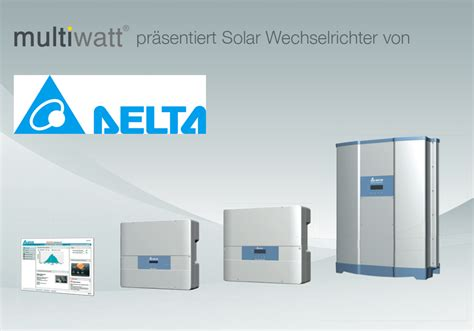 delta energy wechselrichter delta energy wechselrichter delta solar wechselrichter produktank ndigungmultiwatt delta