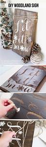 25, Diy, Rustic, Christmas, Decoration, Ideas, U0026, Tutorials, 2017